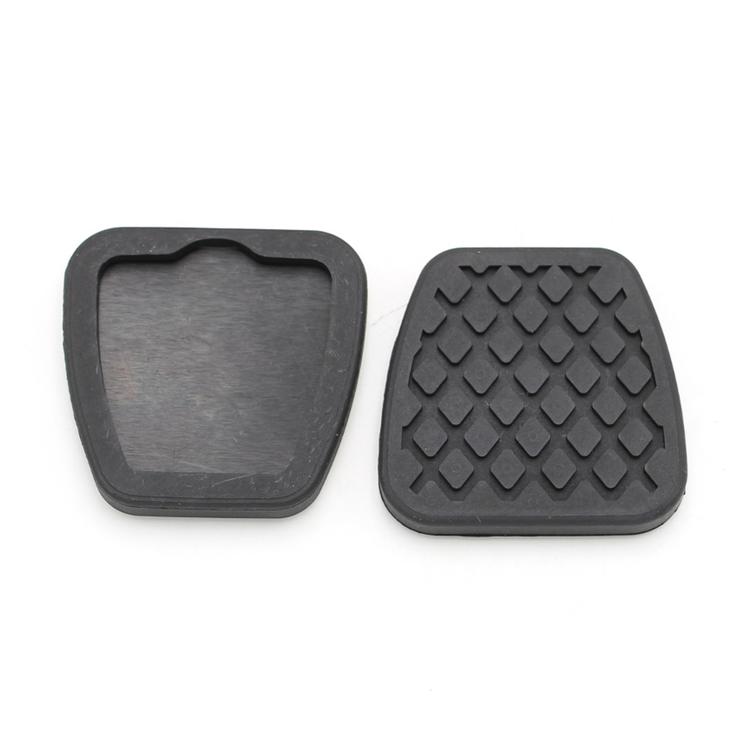 2PCS Brake Clutch Pedal Pad Rubber Covers Fits For Honda