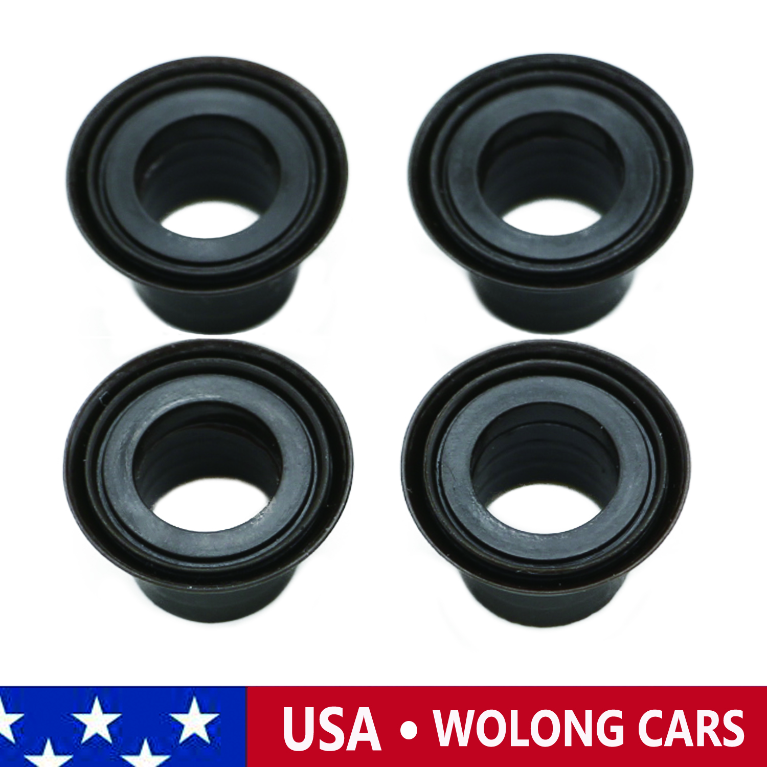 4x Manual Shifter Bushings Fit For Mazda 323 626 Mx